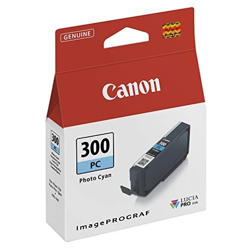 Canon Tintenpatrone PFI-300PC - Foto cyan 14,4 ml - Original für Tintenstrahldrucker