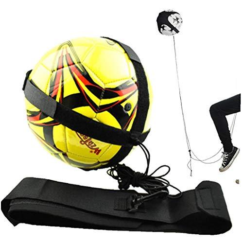 Aisoway Einstellbare Fußball-Training Gürtel Nylon Fußballtraining Gürtel Freihändige Fußball-Trainer Für Sport-Trainingsgeräte