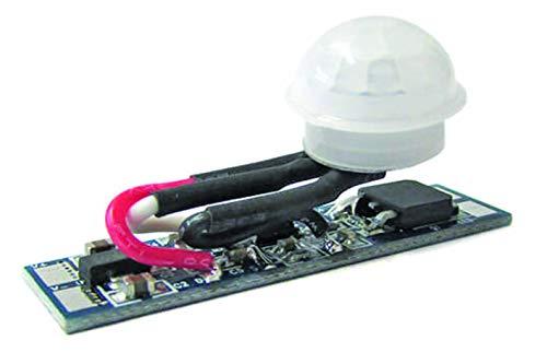 LEDLUX CL7126 Sensore Di Movimento PIR Rilevatore Di Presenza 12V 24V 8A Per Profilo Alluminio Barra Led