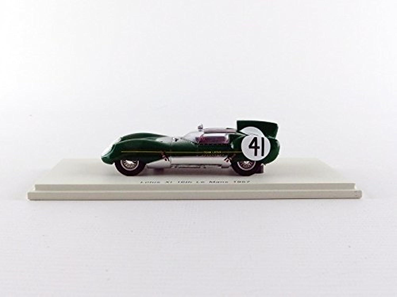 venta al por mayor barato Spark S4401 Lotus XI Le Mans 1957 Escala Escala Escala 1 43 verde  más orden