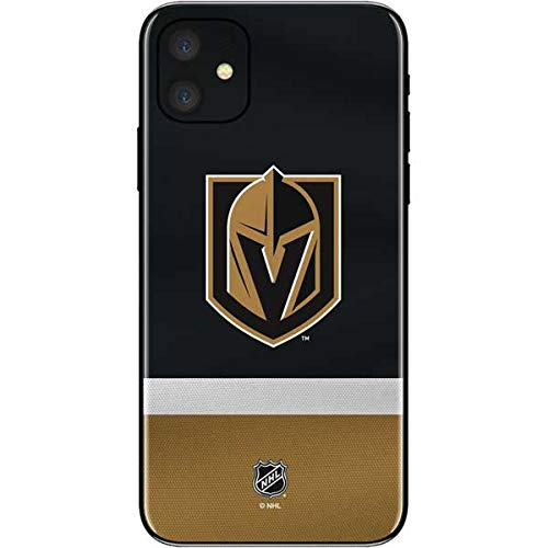 Skinit Decal Phone Skin for iPhone 11 - Officially Licensed NHL Vegas Golden Knights Jersey Design