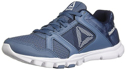 Reebok Women's Yourflex Trainette 10 Mt Cross Trainer, Blue Slate/Collegiate Navy, 8.5 M US