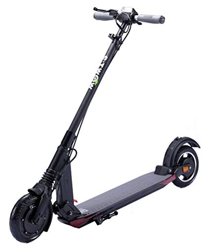 ICE E-twow GT 2020 SE Bluetooth Smart Edition Electric Scooter with Pack Security | Helmet + Strap & Carrying Handle | Black