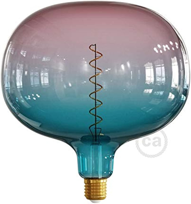 LED-Glühbirne XXL Cobble Traum (Dream) Spiral-Filament 4W E27 dimmbar 2200K