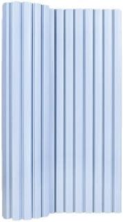 オーエ ポリプロ風呂ふた シンプルスタイル 防カビ加工 幅75×長さ120cm ブルー L-12