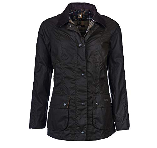 Barbour Beadwell Wax OL71, Blouson Small