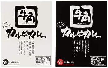 牛角カルビカレー2種セット 【名店カレー】