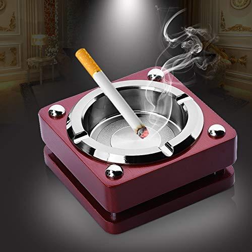 Cenicero de Tabaco de Metal Cenicero de Personalidad Cenicero Moda Práctico Creativo Regalo casero Cumpleaños Creativo