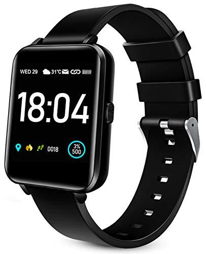 Woyada Relojes Inteligentes Mujer, Smartwatch Hombre 1.54' Grande Pantalla T¨¢ctil IP68 Pulsera Actividad Reloj Deportivo, Smart Watch con Pulsometro Podometro SPO2 para iPhone Samsung Xiaomi
