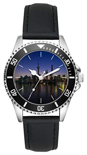 Geschenk für Shanghai Huangpu-Fluss Reise Uhr L-20190
