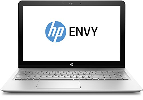 HP Envy (15-as005ng) 39,6cm (15,6 Zoll / UHD IPS) Laptop (Intel Core i7-6500U, 1 TB HDD, 128 GB SSD 8 GB RAM, Windows 10) silber
