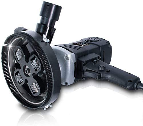 Levigatrice per Calcestruzzo da 1500 W, Testa di fresatura 210 mm, 1000-2000 rpm (giri min), Diametro di Fresatura Massimo 140 mm - Levigatrice Fresatrice per Cemento, Fresa per Risanamento