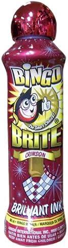 Bingo Brite At the price of surprise 3oz Dauber Crimson Detroit Mall