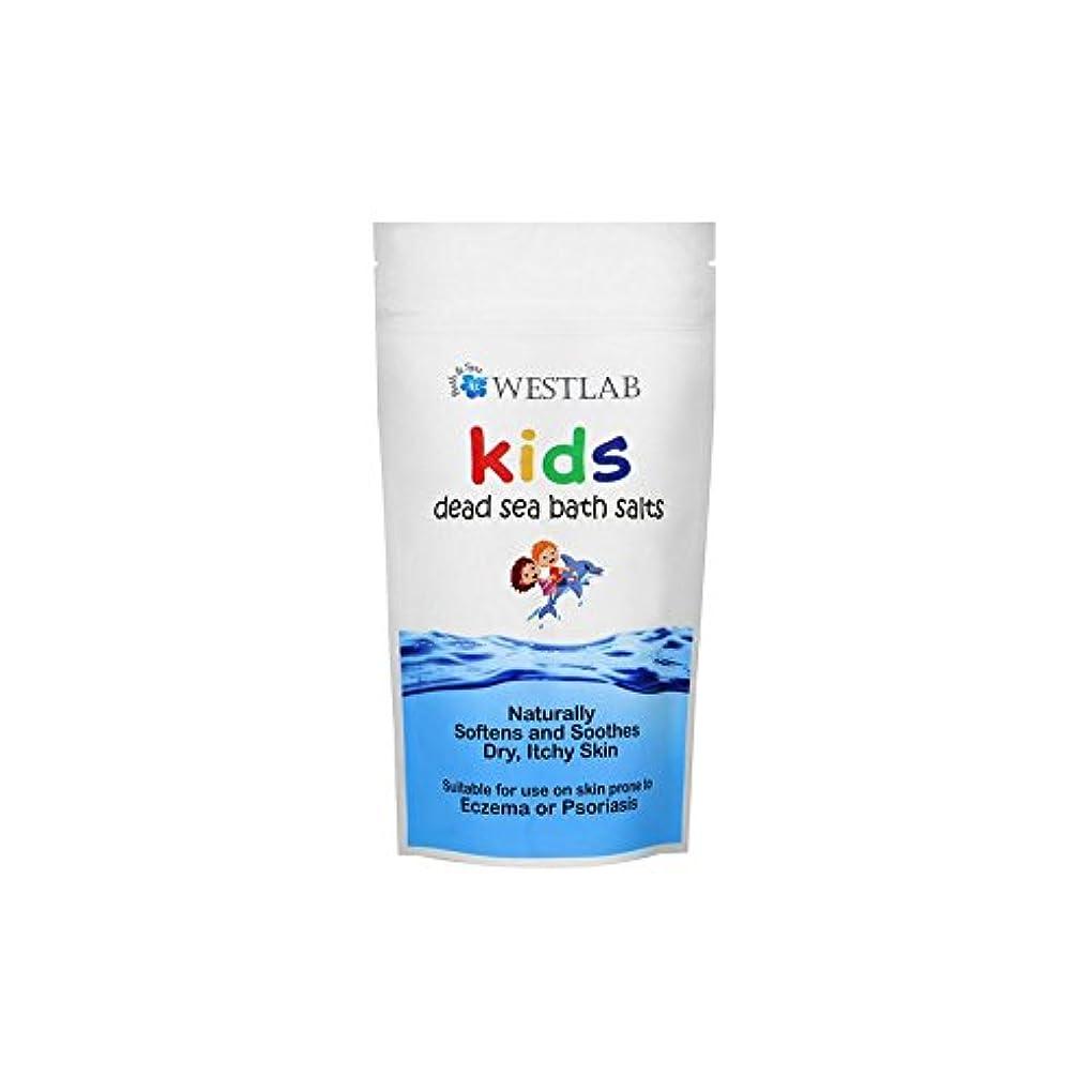 愛撫情報染料子供死海の塩 x4 - Westlab Kids Dead Sea Salt (Pack of 4) [並行輸入品]