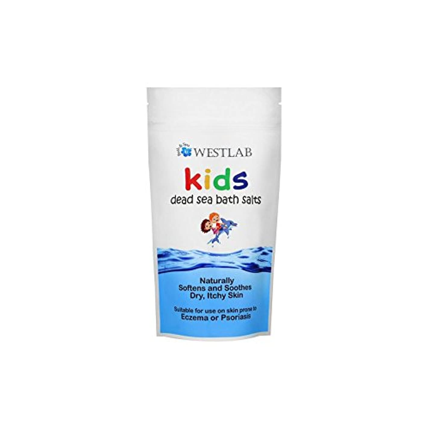 健全ようこそ行方不明子供死海の塩 x2 - Westlab Kids Dead Sea Salt (Pack of 2) [並行輸入品]
