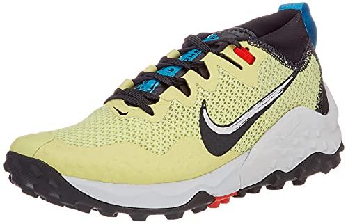 Nike Damen Wildhorse 7 Walking-Schuh, Limelight/Off Noir-Laser Blue, 37.5 EU
