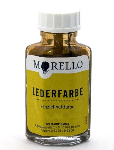 Morello Lederfarbe für Glattleder 40ml Silber
