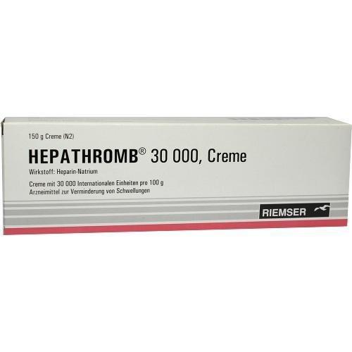 HEPATHROMB Creme 30.000 150 g