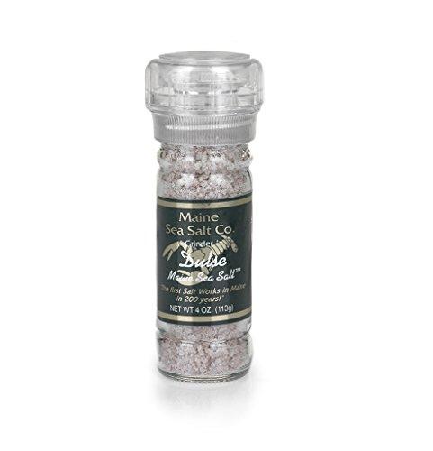 Maine Sea Salt - Dulse Infused Sea Salt and Grinder - 3.6 Ounce