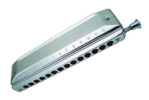 HERING he-5156C Stan Harper 56Chromatische Mundharmonika 12Löcher