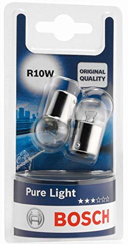 Bosch 1987301019 Autolampe R10W PURE LIGHT - Stopp-/Blinklicht-/Schluss-/Kennzeichenlampe