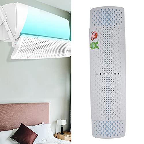 Liujaos Parabrezza per Aria condizionata, deflettore per condizionatore d'Aria Regolabile Girevole a 360° per Donne Incinte per Bambini per condizionatori d'Aria