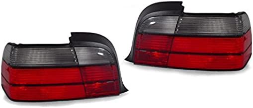 For BMW 318ti E36 Pair Set of Left /& Right Taillights w// Turn Signal Light Bulbs