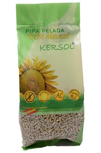 400g Pipa Pelada de Girasol Gourmet - Producida y Pelada en España. Cruda sin sal. SIN GLUTEN.