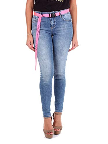 Luxury Fashion | Maryley Dames 9EB614BLUE Donkerblauw Elasthaan Jeans | Seizoen Outlet