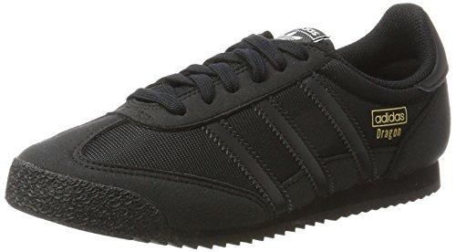adidas Unisex-Kinder Dragon OG Sneaker, Schwarz (Core Black/Core Black/Core Black), 36 2/3 EU
