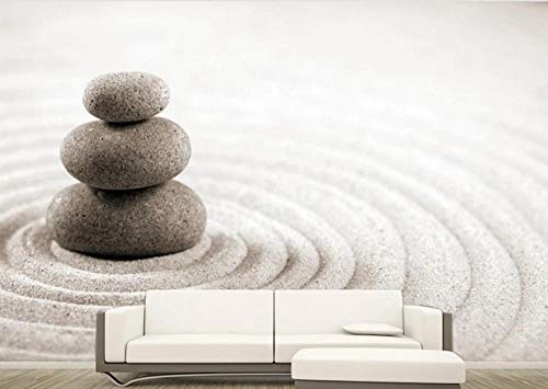 Wallpaper 3D Wallpapers for Walls Mural Zen Stone Sand Wall Murals for Bedrooms and Living Room Tv Background Wall Mural Decoration Art 200cmx140cm