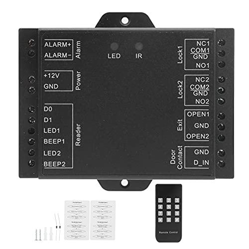 Suministros para el hogar, buena durabilidad Controlador de 2 puertas Control de acceso de relé doble Mini relé doble WIFI Conciso para Wiegand 26‑37