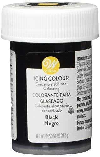 Wilton Colorante Alimenticio para Glaseado en Pasta, 28.3g, Color Negro, 04-0-0037