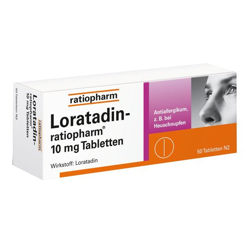 Loratadin Ratiopharm 10 Mg Tabletten 50 St