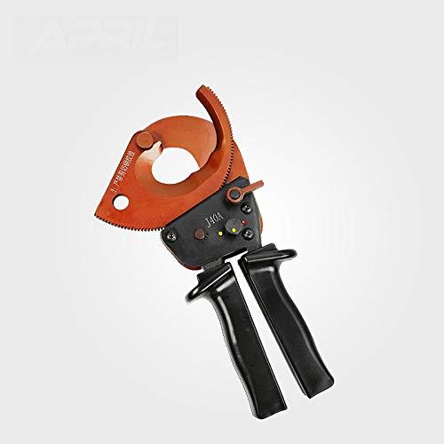 SHIJING Coupe-câble Coupe-câble à cliquet J40A mm Fil EDM Coupe de câble maximale sans mâchoire de Coupe