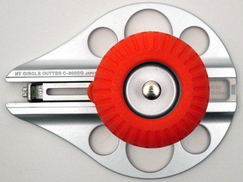 NT Cutter Aluminum Die-Cast Body Heavy-Duty Circle Cutter, 1-3/16 Inches 10-1/4 Inches Diameter, 1 Cutter (C-3000GP) Photo #2
