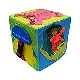 Per Libros Blandos Juguetes Montessori Cubos de Aprendizaje Juguete de Enseñar Vestir Tableros de...