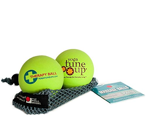 Yoga Tune Up Jill Miller's Therapy Balls Hot Green by Yoga Tune Up