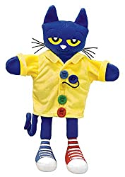MerryMakers Pete the Cat and His Four Groovy Buttons Hand Puppet
