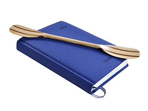 Wooden Pine Mahogany Mini Kayak Paddle - Best Anti Stress Gaget - 30cm