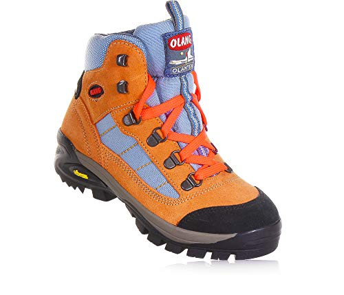 Olang Trekking-Stiefel für Kinder, Tarvisio Kid Tex, Größe EU, - Pink - Größe: 34 EU