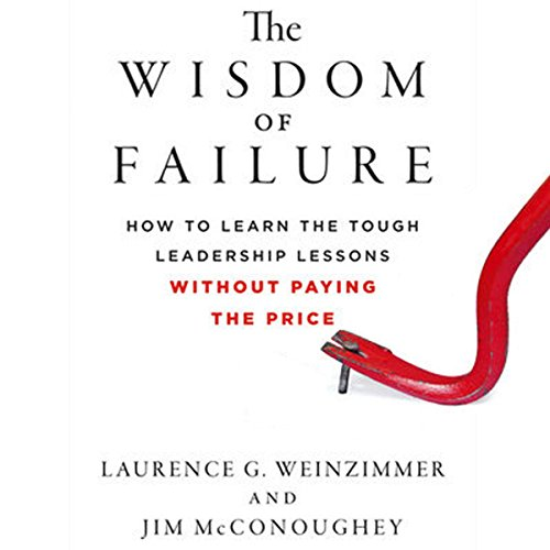 The Wisdom of Failure audiobook cover art