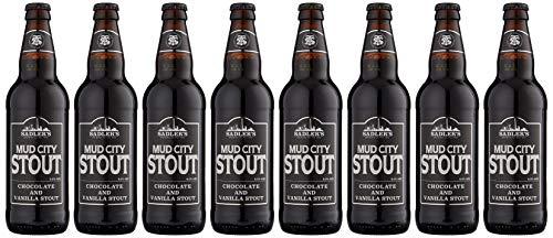 Sadlers Mud City Stout Beer, 8 x 500 ml