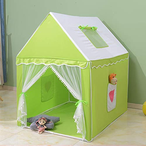 Buy Discount Mogicry Green Child Tent Gaming Room Household Castle Cotton Fiber Stent Decoration Tee...
