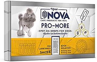 Nova Mydog Büyük Irk Köpek Ense Damlası 5Ml 4Adet 35-55Kg Arası Köpeklere