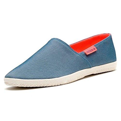 adidas Originals Adidrill - Herren Espadrilles - Aus Canvas-Stoff, Blau, 37 1/3 EU