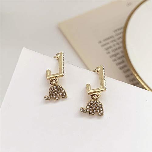 Xi-Link Pendientes, Agujas De Plata S925 Lindos Iconos Pequeños Diamantes Completos Pequeñas Uñas, Temperamento Pendientes Simples (Color : Ear Studs)