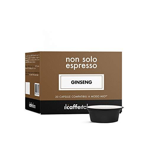 Il Caffè Italiano - 80 Capsule al Ginseng - Compatibili con Macchine da caffè Lavazza a Modo Mio - Frhome