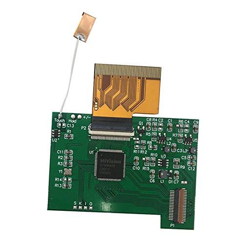 Pantalla LCD Pantalla repuesto Práctico Adaptador táctil duradero Placa Herramienta reparación luz...