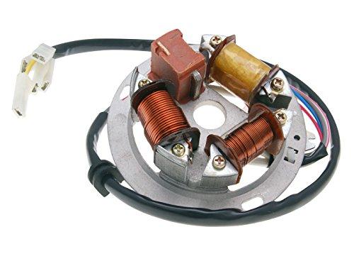 Magnetzündung mit Grundplatte 6V Ersatzteil für/kompatibel mit Simson S51, S53, S70, S83, Schwalbe, SR